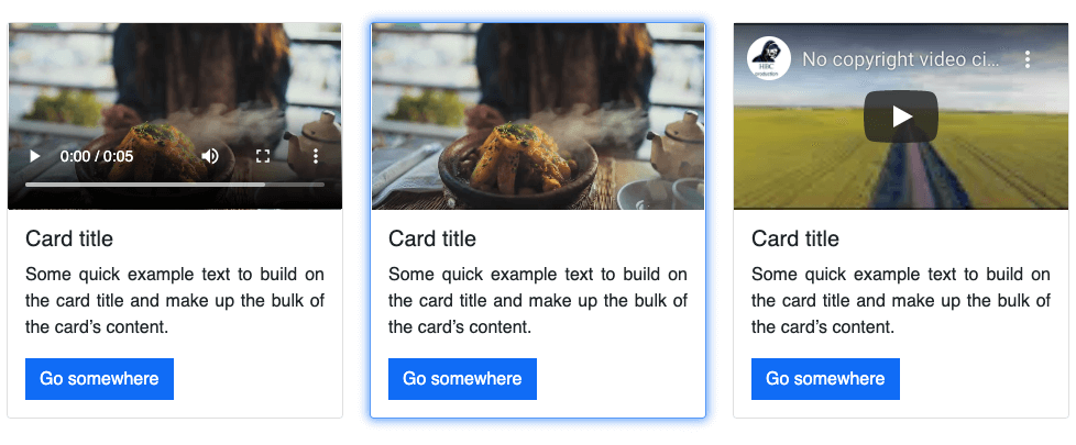 Bootstrap card hover effect (glow-ish)